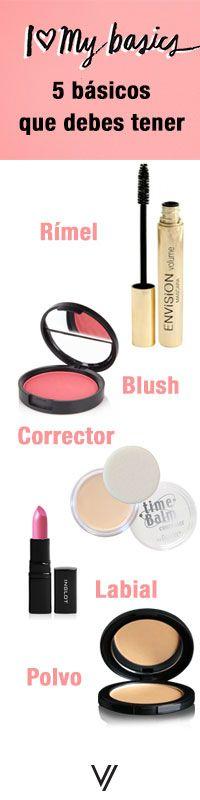 5 básicos de maquillaje que no te pueden faltar. #VoranaTips #basicos #maquillaje