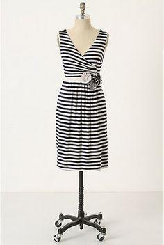 Anthro DIY striped dress