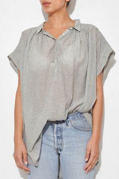 Thin Stripe Normandy Shirt