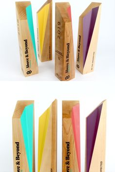 These trophies were handmade and painted to give the award that added pop of colour! They are our signature impossible design and feature sustainably sourced birch wood. Wooden Award, Star Trophy, Olive Oil Packaging, Christmas Coloring Sheets, Plaque Design, Custom Trophies, Trophy Design, Custom Awards, Foyer Design