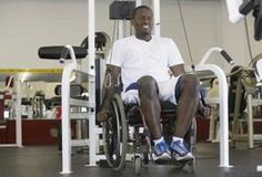 There are many kinds of wheelchair exercises that can benefit people with paraplegia. These include aerobic and resistance training, as well as stretching. Weight Lifting, Weight Loss, Losing Weight, Routine, Chair Exercises, Fitness Design, Physical Therapy, Occupational Therapy, Physical Fitness