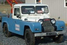 1966 Austin Gipsy Tow Truck Wrecker For Sale Front