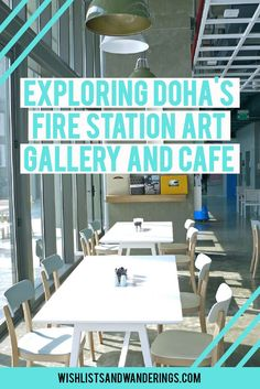 Two red fire engines, a fireman pole... acrylic paint and falafel wraps? Doha's old fire station has been converted into a contemporary art gallery and lovely café space - and an old fire engine is now a food truck! This trendy and intriguing mix of art and cuisine in a stunning industrial-chic refurbished space is a great stop on a visit to Qatar. Click through to find out why we loved Doha Fire Station and Cafe #999