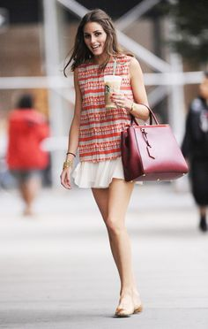 Dress and flats, love for spring