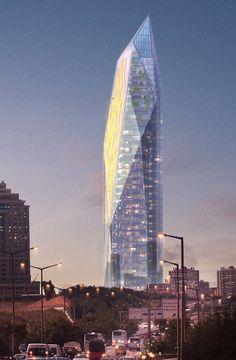 Rönesans Towers, FXFOWLE Architects, Fehmi Kobal Design Architects