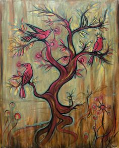 Kelly Vivanco - Art - Treebirds