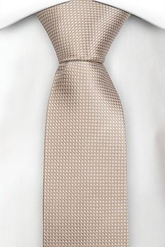 Necktie - Orange base tightly packed with white pin dots Notch oB4dLL