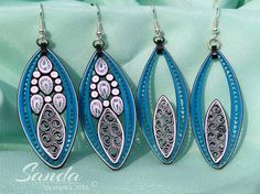 12 Awesome Paper Quilling Jewelry Designs To Start Today – Quilling Techniques Paper Quilling Earrings, Paper Quilling Flowers, Paper Quilling Designs, Quilling Paper Craft, Quilling Patterns, Quilling Ideas, Paper Jewelry, Paper Beads, Jewelry Art