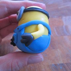 how to make a fondant minion - Google Search