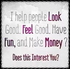 Does this interest you? Let's chat!!! My business is booming and I'm looking to expand my team. Full training, coaching & support provided.  Looking forward to hearing from you.  www.aliveraforever.flp.com