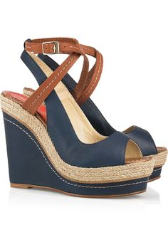 Paloma Barcelo $315 I think that this may become my summer shoe...