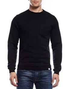 52c47f879510 Visby pocket dry cotton crew black · Norse ProjectsMen ...