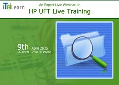http://www.itelearn.com/events/uft-live-training/  Looking for wonderful #softwarecareer? Here is a great chance for you by #ITeLearn. #UFT #LiveTraining orientation session is going to be held on April 9th at 6:30 p PST/9:30p EST / 10th April at 7am IST. It's a great opportunity to get into your dream #job.