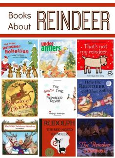 Reindeer Books for Kids #raisingreaders http://www.raisingreaders.org