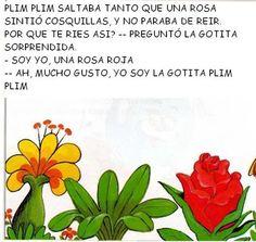 Álbumes web de Picasa Gota, Herbs, Album, Color Azul, Paper, Bow Braid, Alphabet, Preschool Learning, Poems For Children