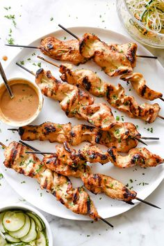 Grilled Chicken Sate