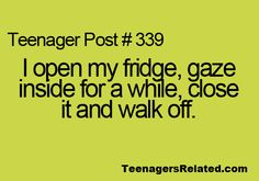 Lol i only do this when there isnt anything to eat hardly and my fridge is basically empty besides the stuff you have to cook like bacon or something and like sauces and toppings