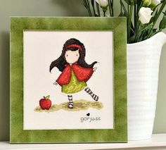 Little Girl Gorjuss The World of Cross Stitching Issue 206 September 2013 Saved