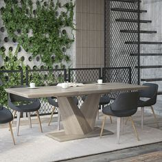 Heston Extendable Dining Table | IFORTIFI CANADA