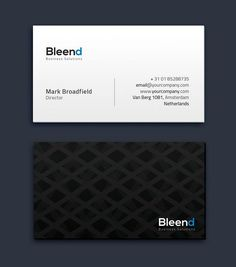 Simple Business Card Vol. 02 Templates Business Card for almost any kind of company, or even personal use. All text layers can be changed w by Easygraphics Minimal Business Card, Simple Business Cards, Business Brochure, Business Card Logo, Business Card Design, Name Card Design, Cleaning Business Cards, Business Illustration, Card Templates