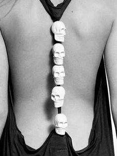 Skulls on your spine