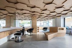 Les Dada East hair and styling salon by Joshua Florquin, Paris – France » Retail Design Blog