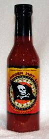 "Captain Mowatt's Private Reserve, ""JOLLY ROGER"" is a fiery sauce whose time has come.............again. Simplicity in it's ingredients: Red Savina Habaneros, cider vinegar, Maine sea weed & sea salt. Hotter than most, in no way sacrificing flavor, deftly there. Taste what the crew was missing. Captain Henry Mowatt, aboard the man-of-war Canceaux, rewarded his crew sparingly with a very similar sauce in 1775.    Kick up the heat in your Buffalo wings or add fire to your cooking."