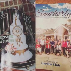 Well this day turned a bit more exciting than it already was. The July issue of Southerly of @n2publishing magazine arrived today and when I was strolling @visitnorthhills tonight after dinner at CowFish I picked up the July/August issue of @raleighmagazine with an image from a styled shoot I shot at @1870farm styled by @honeybeemineevents with the amazing talents of @artyliciouscakes as they did a feature article on the fantastic Irene! Woohoo!