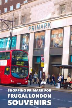 London souvenirs for less than two pounds? Check out London's Primark for fun travel souvenirs on the cheap-- our photo guide. (London, England, UK)