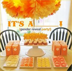 gender reveal party!!