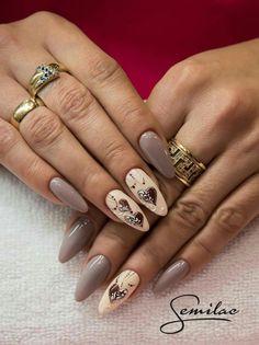 Pin di phoebe su paznokcie - wzory nail art, nail art designs e nails. Hair And Nails, My Nails, Nail Art Designs, Design Art, Jolie Nail Art, Valentine Nail Art, Round Nails, Pretty Nail Art, Creative Nails