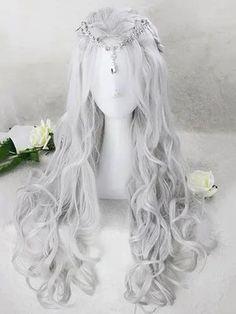Kawaii Hairstyles, Pretty Hairstyles, Wig Hairstyles, Hairstyle Men, Funky Hairstyles, Formal Hairstyles, Wedding Hairstyles, Cosplay Hair, Cosplay Wigs