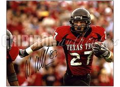 Wes Welker # 27 WR Texas Tech Red Raiders