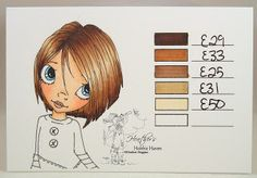 Hair Colors - Copic Markers...