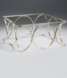 Find This Pin And More On Tables Decorative Crafts Square Hand Wrought Iron Coffee Table With Lightly Antiqued Silverleaf Finish And Glass Top