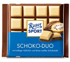 RITTER SPORT Schoko-Duo #Schokolade im Sortiment bis Ende 2014
