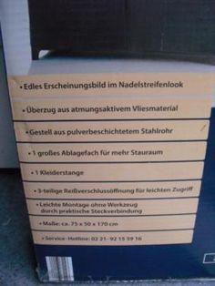 Nice Faltbarer Kleiderschrank Original verpakt in Wandsbek Gartenstadt eBay Kleinanzeigen