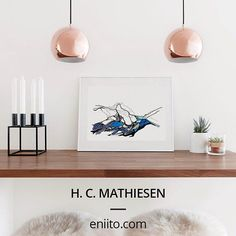 H. C. Mathiesen are strongly inspired by Nordic nature. He gives his stringent and minimalistic drawings a very personal and significant expression. Shop your personal favourites at eniito.com  #ENIITO #Art #artisian #Illustrations #NordicDesign #Design #DanishDesign #ScandinavianDesign #interior #style #Iceland #minimalism #original #limitededition #nature #NordicNature #Simple #Elegant #Design #minimalism #original #living #drawings