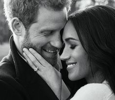 Official engagement photos of Prince Harry and Meghan Markle were released