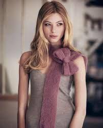 Sjaal met strik
