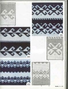 Fair Isle Charts Motif these are great if you are doing double knitting and are changing background color Knitting Machine Patterns, Fair Isle Knitting Patterns, Knitting Charts, Knitting Socks, Knitting Designs, Knitting Stitches, Knit Patterns, Knitting Projects, Baby Knitting