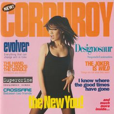 As well as a brand new sixth studio album, Acid Jazz Records are releasing three of Corduroy's five album back catalogue; the other two released through Well Suspect Records, The New You and Clik! Plus singles.