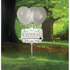 Wedding+Yard+Signs+Kit+-+OrientalTrading.com