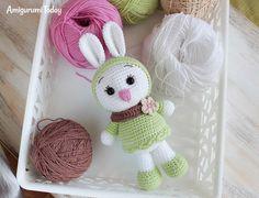 Sunny Bunny crochet pattern by Amigurumi Today