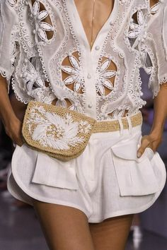 Zimmermann at New York Fashion Week Spring 2018 - The Chicest Designer Handbags From New York Fashion Week Spring 2018 - Photos