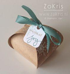 Stampin' Up! - Curvy Keepsakes Box, Endless Wishes - ZoKris