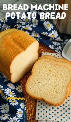 Bread Machine Potato Bread Recipe, Easy Bread Machine Recipes, Best Bread Machine, Bread Maker Recipes, Tasty Bread Recipe, Instant Mashed Potatoes, Mashed Potato Recipes, How To Make Bread, Bread Making