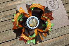 Turkey Hair Bow, Thanksgiving Choose Your Bottle Cap , Colorful Turkey Hair Bow , Turkey Day Bow , Fall Hair Clip , 5 Inch Hair Bow Thanksgiving Hair Bows, Fall Hair, Hair Clips, Turkey, Cap, Colorful, Bottle, Handmade Gifts, Etsy