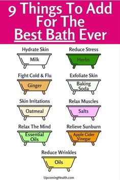Remedies Forget chemical bath products and use these natural ingredients to rejuvenate the body and mind! Have the best bath EVER! - Forget chemical bath products and use these natural ingredients to rejuvenate the body and mind! Have the best bath EVER! Health Benefits, Health Tips, Herbs For Health, Tea Benefits, Milk Bath Benefits, Health And Beauty Tips, How To Exfoliate Skin, Best Bath, Tips Belleza