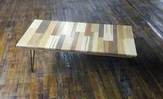 Reclaimed Wood Coffee Table Unframed Wood by BlueRidgeWoodworking